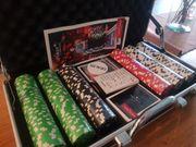 Pokerkoffer Set NEU