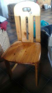Massive Holzstühle 8 stück