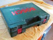 leerer Bosch Koffer für Bohrhammer