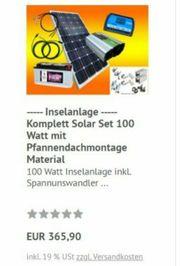 Insel Solaranlage komplett mit Garantie