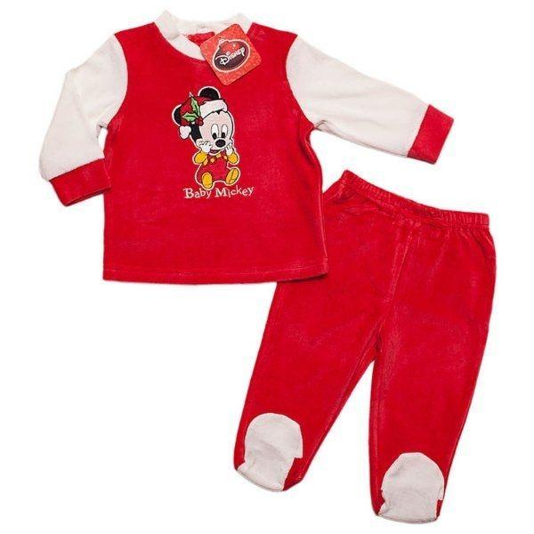 Mickey Mouse Baby Weihnachts Pyjama