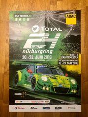 Original Plakat 24h Rennen Nürburgring