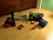 Playmobil LKW Kart und Gabelstapler