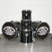 Shellset Schlagzeug 2 Bassdrums 3