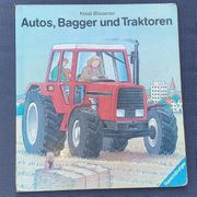 Großes Buch - Autos Bagger und