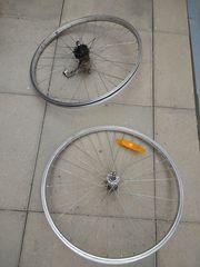 Fahrradfelgen 24er Alu mit Schaltung