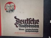 Zigarettenbilderalbum Deutsche Uniformen Freiheitskriege