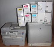HP Color Laser Tonerpaket Kombigerät