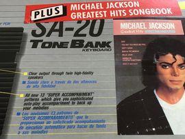 Keyboard Vintage Michael Jackson: Kleinanzeigen aus Graben-Neudorf - Rubrik Keyboards