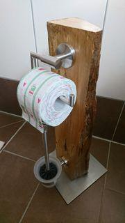 Loft Wohndesign Deko WC- Papierhalter