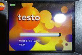 TESTO 875-2 Thermografiekamera: Kleinanzeigen aus Gera Innenstadt - Rubrik Elektro, Heizungen, Wasserinstallationen