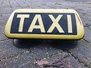 HALE Taxi Dachzeichen mit Magnetfüßen