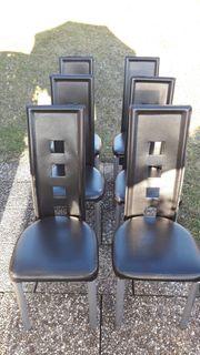 6 Stühle zu verkaufen