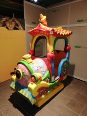 Lokomotive Kiddie Ride Schaukelautomat Kiddy