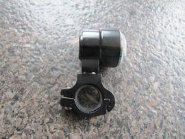 Motorrad-, Roller-Teile - Motorrad Analoguhr mit Lenkerhalterung d -