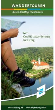 Bayern Jurasteig Wanderkarte zu verschenken