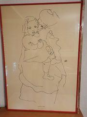 Bild Druck Egon Schiele