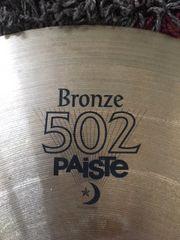Paiste Bronze 502 Ride 20