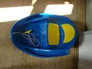 Alpengaudi Babyschlitten blau ohne Gurt