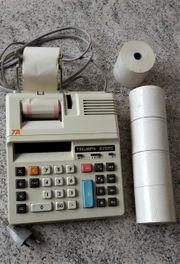 Sammlerstück Tischrechner Triumph ca 1983