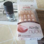 Acryl nude 28 Nägel OVP
