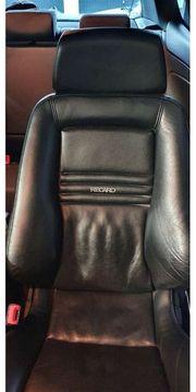 Recaro Orthopädie Sitze mit Konsole