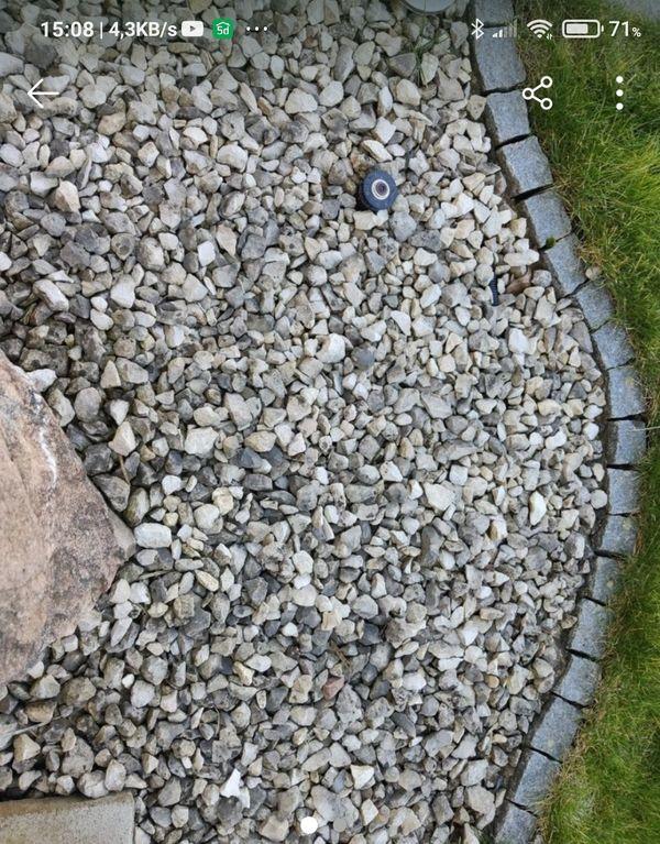 Gartensteine ca 3x5 cm im