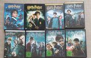 Harry Potter DVDs komplette Reihe