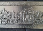 Zinnbild Darstellung der Stadt Aachen