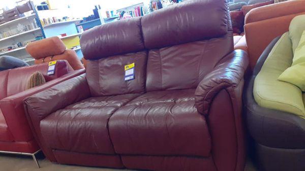 Sofa Leder 2 sitzer 160x100x78