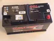 Moll Autobatterie 95Ah AGM Starterbatterie