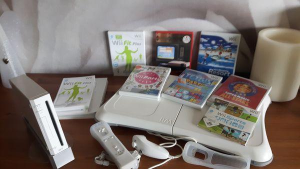Wii mit Balance Board und