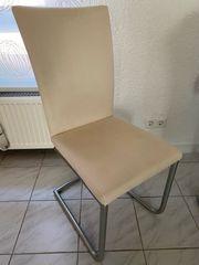6x Freischwinger Stuhl Esszimmerstuhl in