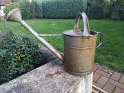 Antike Zinkkanne mit abnehmbarem Ausgießer