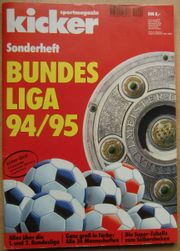 Kicker Sonderheft Bundesliga 94 95