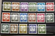 Briefmarken BRD 1961 64 Bedeutende