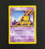 Pokemon Karte Abra 43 102