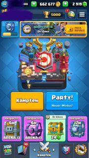 Clash Royale Top Account 5000