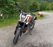 KTM Duke 125 ABS nur