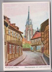Ca 75 Jahre alte Ansichtskarte