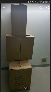 Gebrauchte stabile Kartons