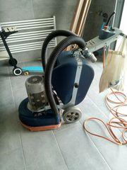 Parkettschleifmaschine TRI-VARO 420 Dreischeiben-Schleifmaschine