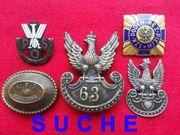 SUCHE Polnische Abzeichen Polen Orden