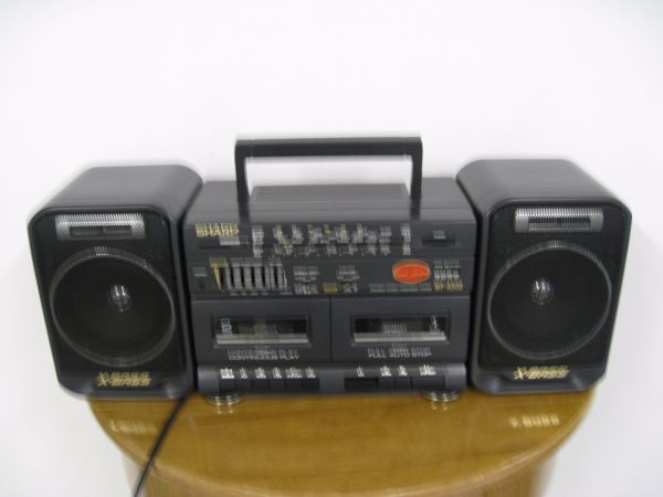 Stereo-Radio-Doppel-Cassettenrecorder SHARP WF - A 500H