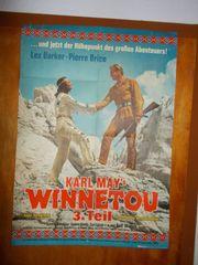 Film Plakat WINNETOU 3 Teil