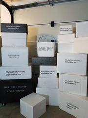 Styroporboxen gebraucht von 3 Liter