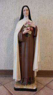 Alte Gipsfigur Maria Madonna Antik