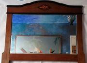antiker Spiegel Jugendstil Badezimmerspiegel Flurspiegel