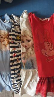 6 Mädchen Kleider 116 122