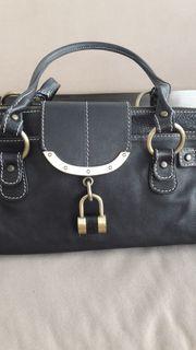 Handtasche Leder Marke Barbara Milano